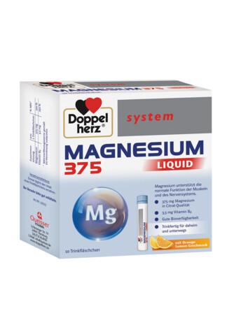 Doppelherz system Magneziu 375 mg Lichid
