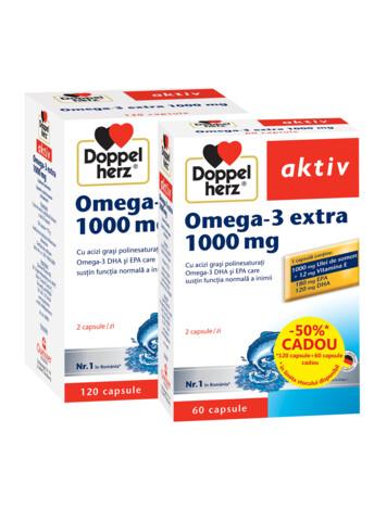 (OFERTĂ) Doppelherz aktiv Omega 3 1000 mg