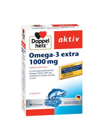 Doppelherz aktiv Omega-3 Extra 1000 mg