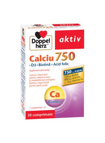 Doppelherz aktiv Calciu 750 + D3