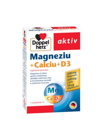 Doppelherz aktiv Magneziu + Calciu + D3