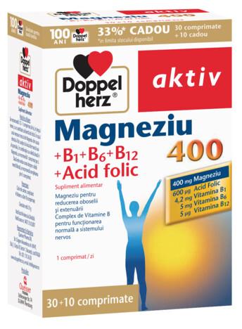 30+10 GRATUIT Doppelherz aktiv Magneziu 400