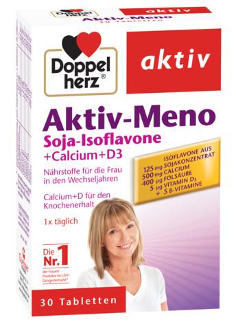 Doppelherz Aktiv Meno Soia-Isoflavone + Calciu + Vitamina D3
