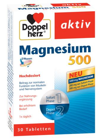 Doppelherz aktiv Magneziu 500