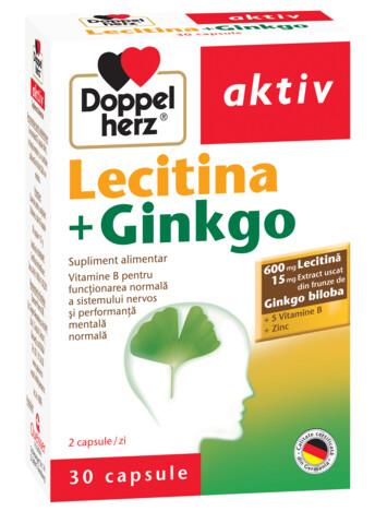 Doppelherz aktiv Lecitină + Ginkgo