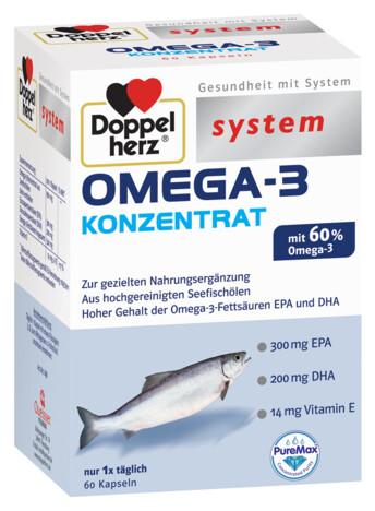 Doppelherz system OMEGA-3 CONCENTRAT