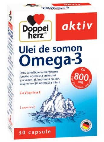 Doppelherz aktiv Ulei de Somon Omega-3