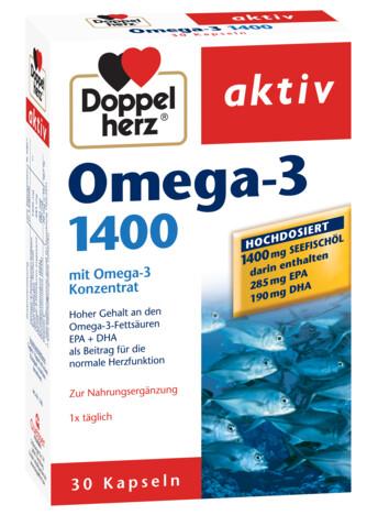 Doppelherz aktiv Omega-3 1400 mg