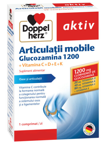 Doppelherz aktiv Articulații mobile Glucozamina 1200