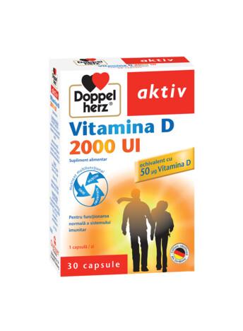 Doppelherz aktiv Vitamina D 2000 UI